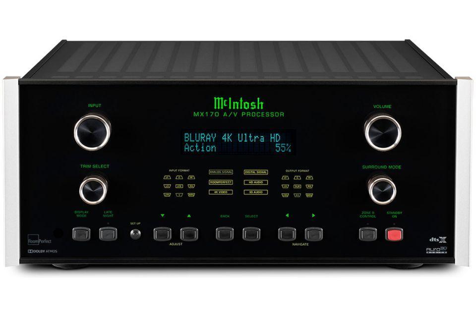 Mc Intosh - MX 170 Préamplificateur Audio vidéo 12.2 4K Dolby Atmos