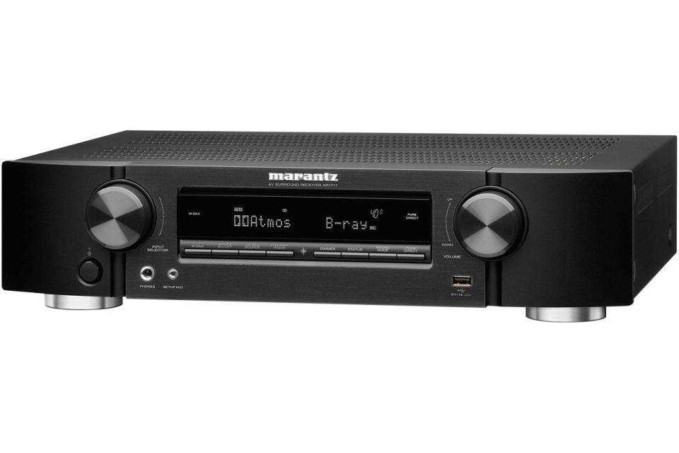 Marantz - NR1711 Amplificateur audio vidéo 7.1 4K Dolby Atmos