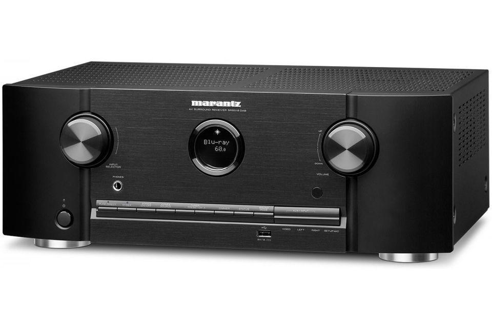 Marantz - SR5015 DAB Amplificateur audio vidéo 7.2 4K Dolby Atmos