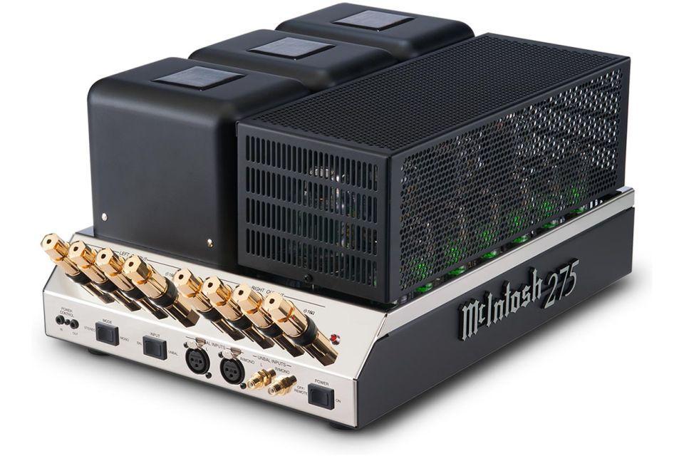 Mc Intosh - MC 275 v6 Amplificateur de puissance à tubes stéréo (modèle d'exposition)