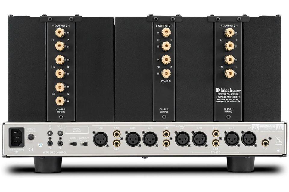Mc Intosh - MC 257 Amplificateur de puissance 7 canaux