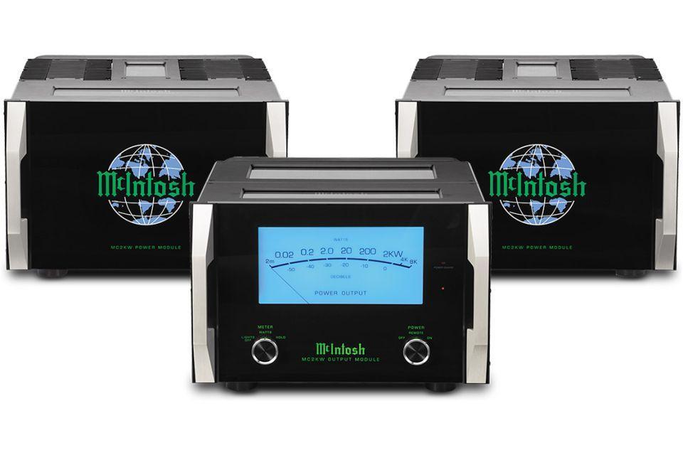 Mc Intosh - MC2KW Amplificateur de puissance Bloc Mono triple châssis