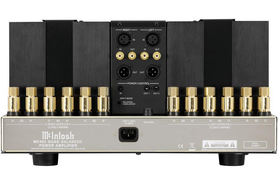 Mc Intosh - MC 452 Amplificateur de puissance stéréo (dépôt vente)