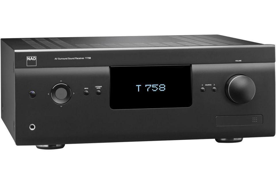 NAD - T 758 v3i Amplificateur audio vidéo 7.1 4K Dolby Atmos