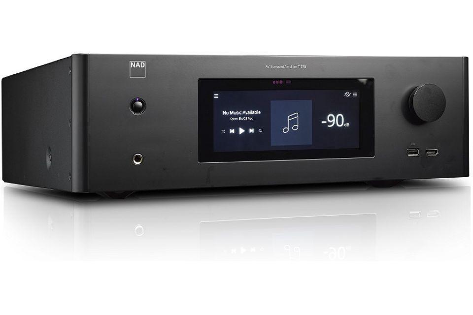 NAD - T 778 Amplificateur audio vidéo 9.1 4K Dolby Atmos