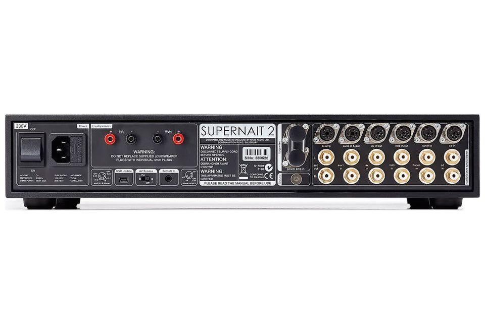 Naim - SUPERNAIT 2 DR Amplificateur intégré stéréo (Modèle d'exposition)